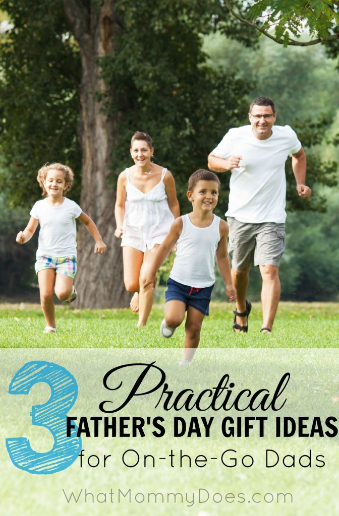 What to get a busy dad for Father's Day - 3 practical Father's Day gift ideas! Perfect from a wife and/or the kids.