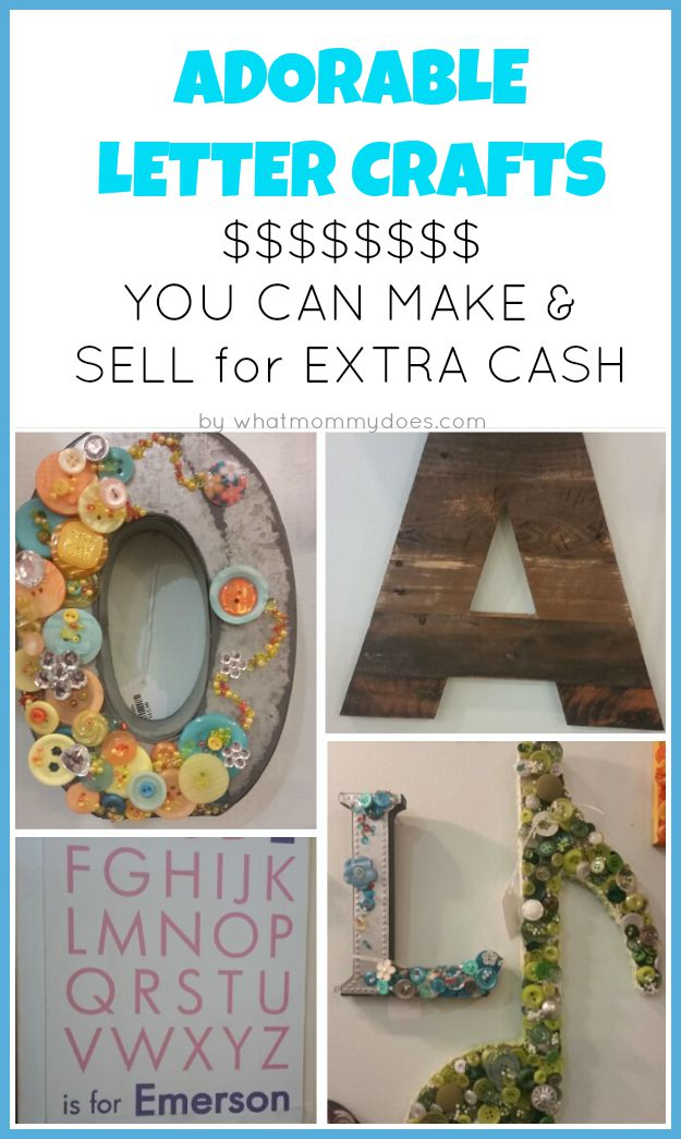 50 crafts you can make and sell updated for 2018 for Great crafts to make and sell