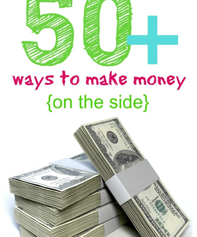It's here! 50+ of the best money making ideas for 2016 - these are specific ways you can make extra money from home, in addition to your regular job. Flexible jobs and business you can start in your spare time - whether you are into writing, photography, Etsy, Ebay, baking, yard sales, crafts, driving, offering services like running errands, etc. I think there's something for everyone. I made sure these extra income ideas are very specific - no generic lists of things u can do to earn extra cash
