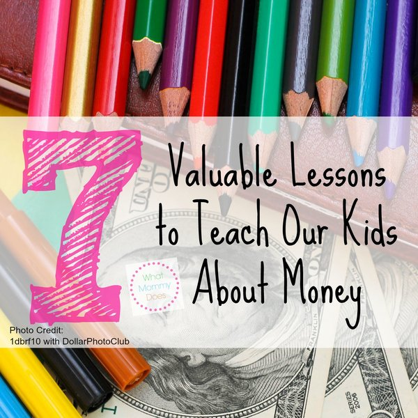 7 money lessons our kids should learn
