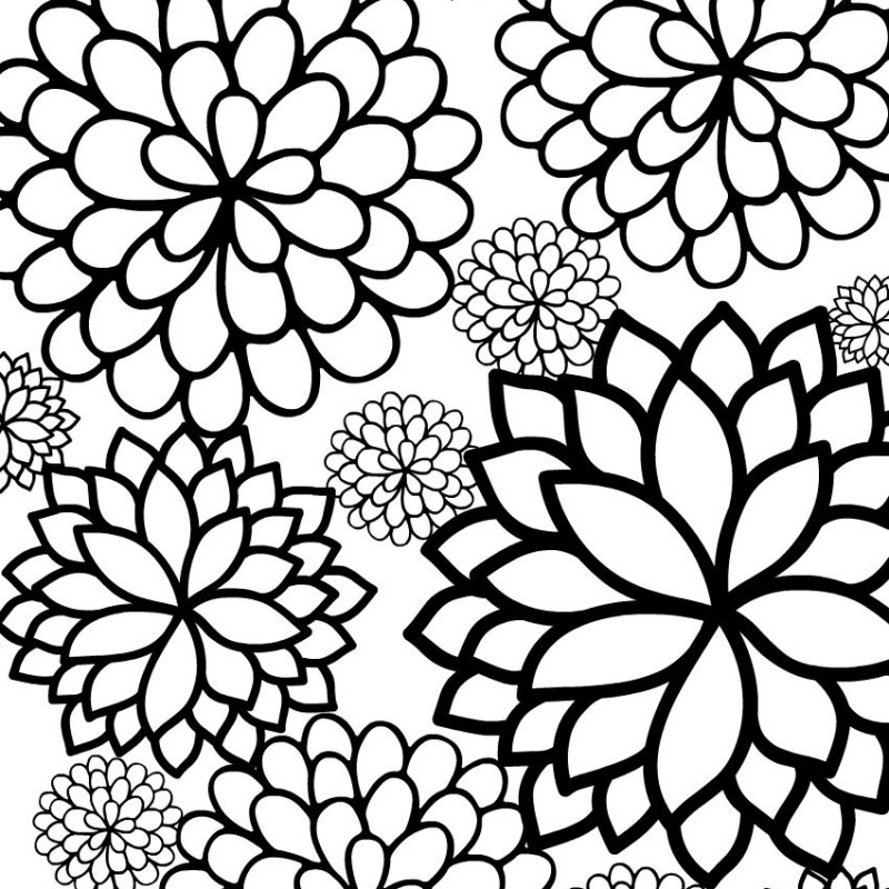 14 Places to Find Free, Printable Spring Coloring Pages | 800x800