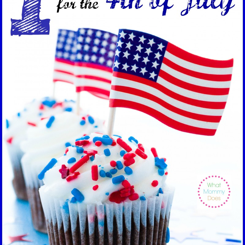 patriotic 4th of July cupcake ideas