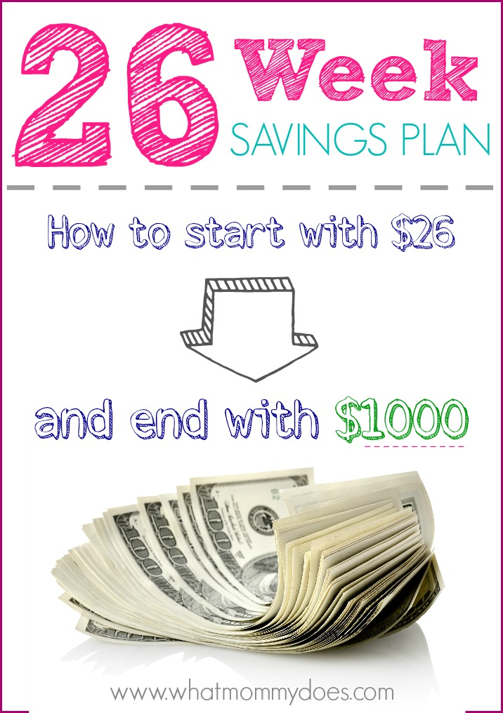 26 Week Savings Plan Printables - Free access to my weekly savings plan charts! These will force you to stay on track while saving money for Christmas gifts, vacation, birthdays, or something special. Put your savings plan in motion!