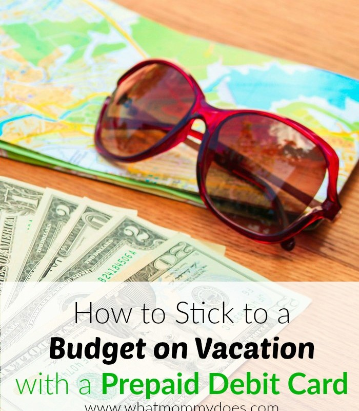 Vacation budgeting can be tricky - I started saving money by budgeting on vacation with a prepaid debit card. Learn how! It works whether you're planning a road trip or going to Disney!