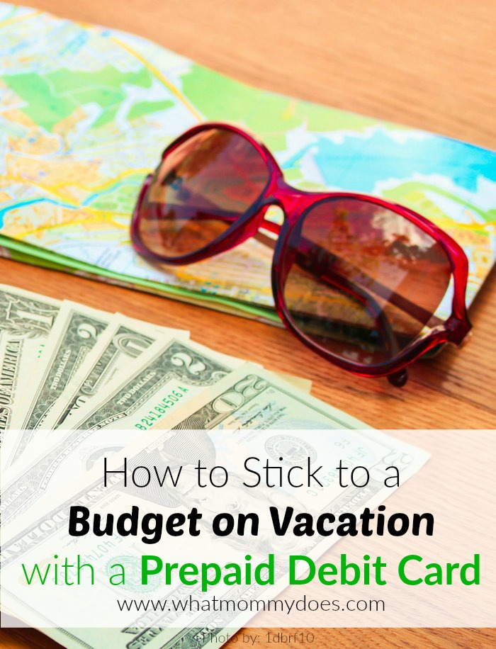 Vacation budgeting can be tricky - I started saving money by budgeting on vacation with a prepaid debit card. Learn how! This budget method works whether you're planning a road trip or going to Disney!