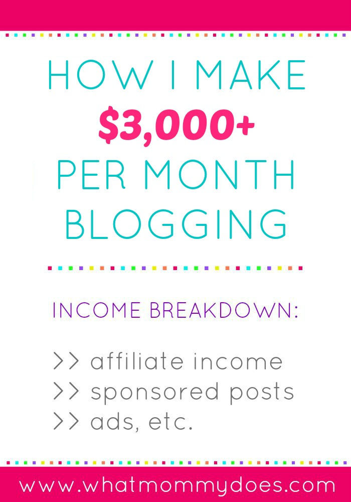 how I make 3000+ blogging