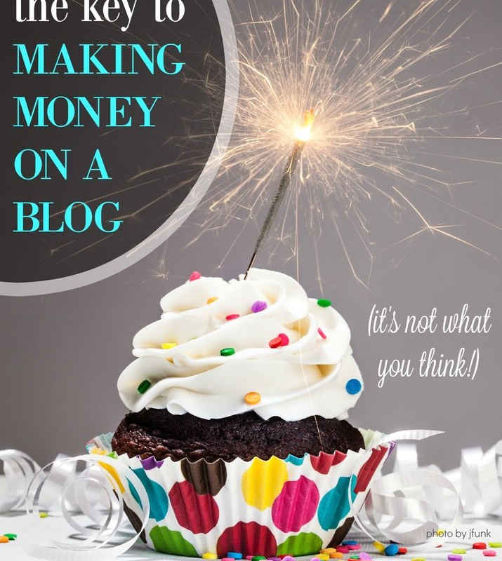 How Do I Make Money Blogging? - I get this question from readers all the time about how I make money from my blog. There is one solid tip I share with every single person who wants to learn how to make extra money online. This post explains the key to earning money blogging whether you're just starting out or have been doing this for 5 years.