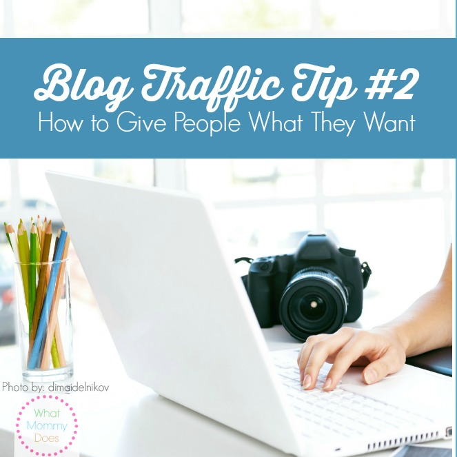 How to Get More Blog Traffic by GIVING PEOPLE WHAT THEY WANT - Post #2 in my blogging tips and tricks series. Whether you're a beginner or advanced, these tutorials will help you get more traffic to your blog, which will ultimately help you make more money!