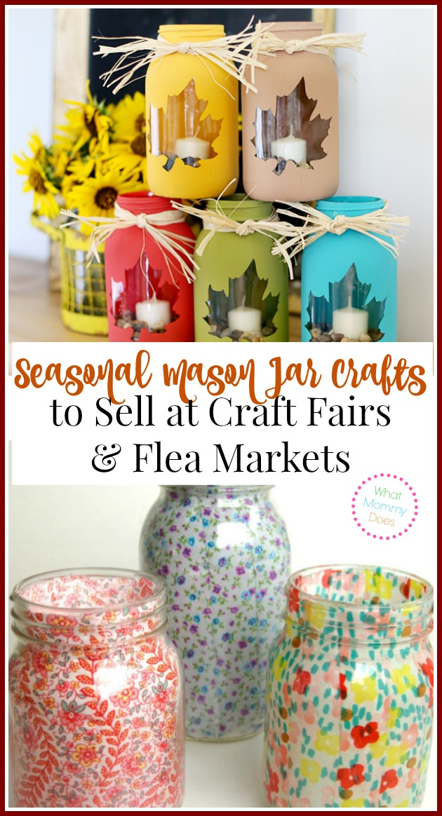 13 mason jar crafts to make sell for extra cash what for Great crafts to make and sell
