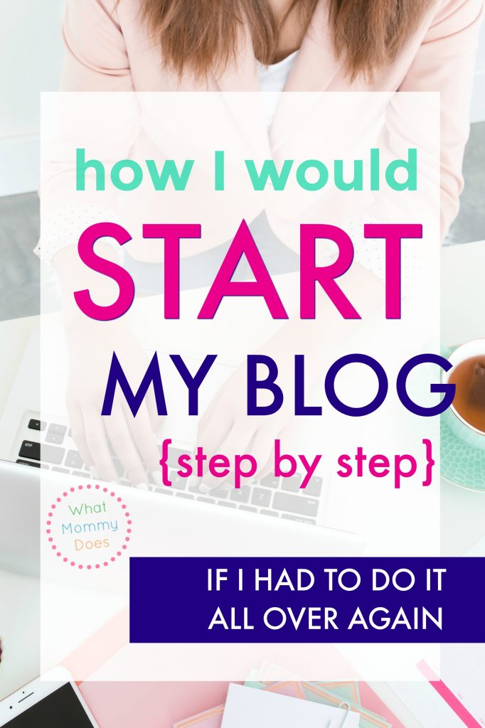 I started blogging over 7 years ago and have made over $250,000 since then. Now that I know how to make money blogging, I like teaching other stay-at-home-moms so they can realize their dreams. I'm on my way to half a million by the end of 2019. This is a step-by-step tutorial / guide to how I would start a blog if I had to do it all over again! #wordpresswebsite #income #extracash #blogging