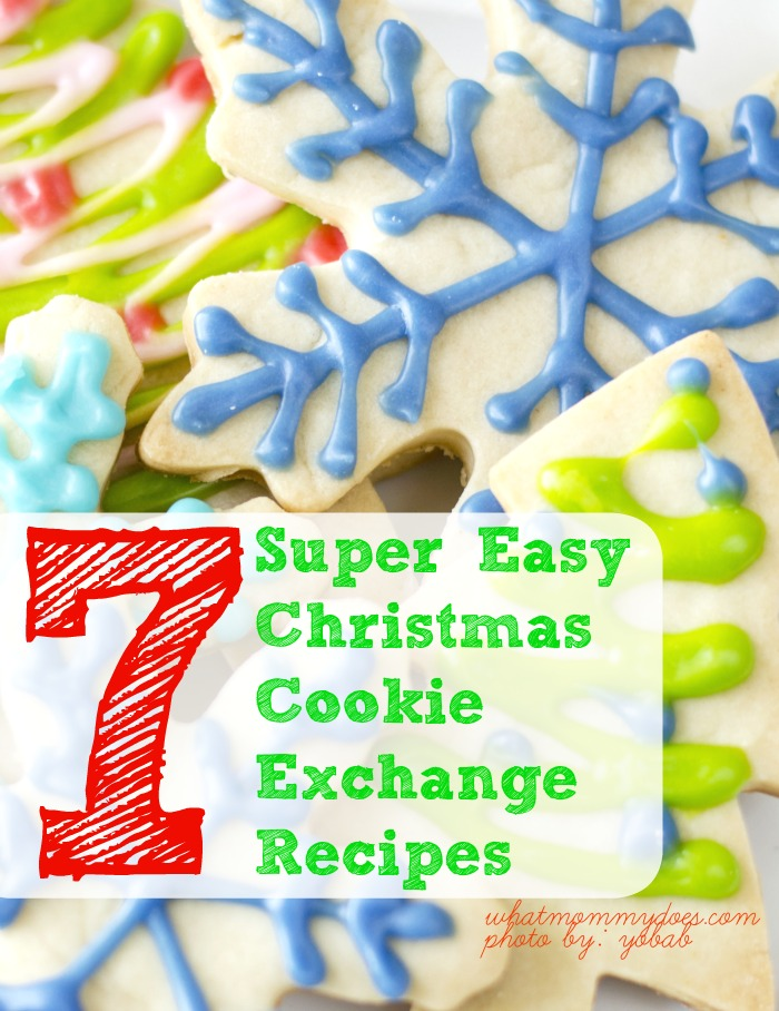 7 Super Easy Christmas Cookie Exchange Recipes What Mommy Does