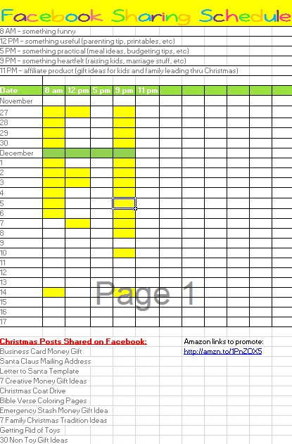 If you're working on a Facebook strategy for your blog or business, you'll want this Facebook posts tracker. It's an editable Excel file to help with planning your Facebook post ideas. Free template download on the blog!