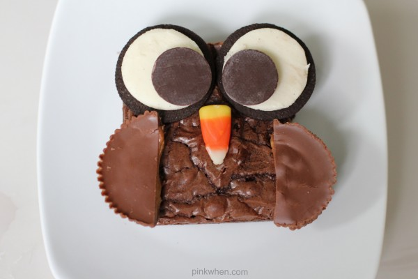 Brownie Owl Treats from Pink When