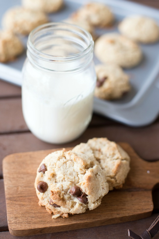 Oatmeal Chocolate Chip Cookies from A Night Owl Blog