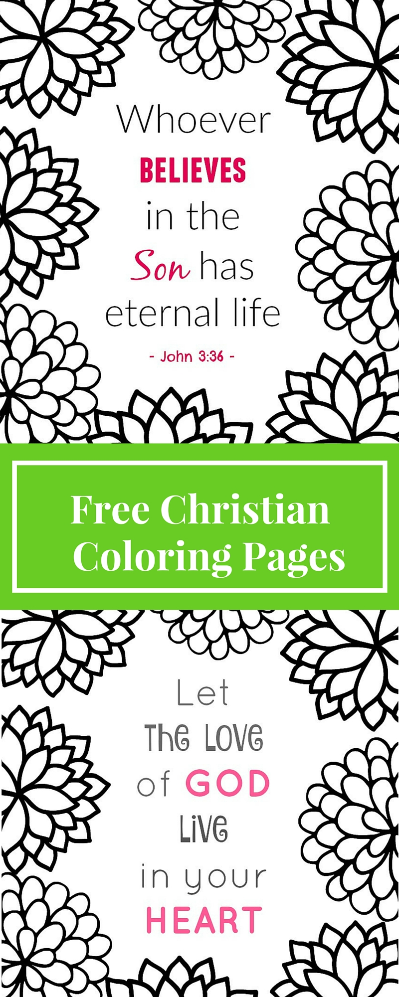 free christiian coloring pages - photo#33