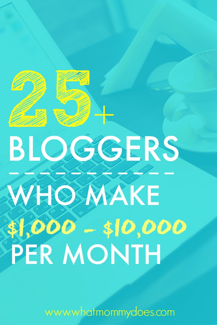 Ever wondered how much money you can make blogging? I got 25 bloggers to spill the beans and share their blog income reports! Blogging is my favorite way to make extra money. Learn how they do it! Get ideas & inspiration to supercharge your own blog earnings or get inspired to start your own blog!