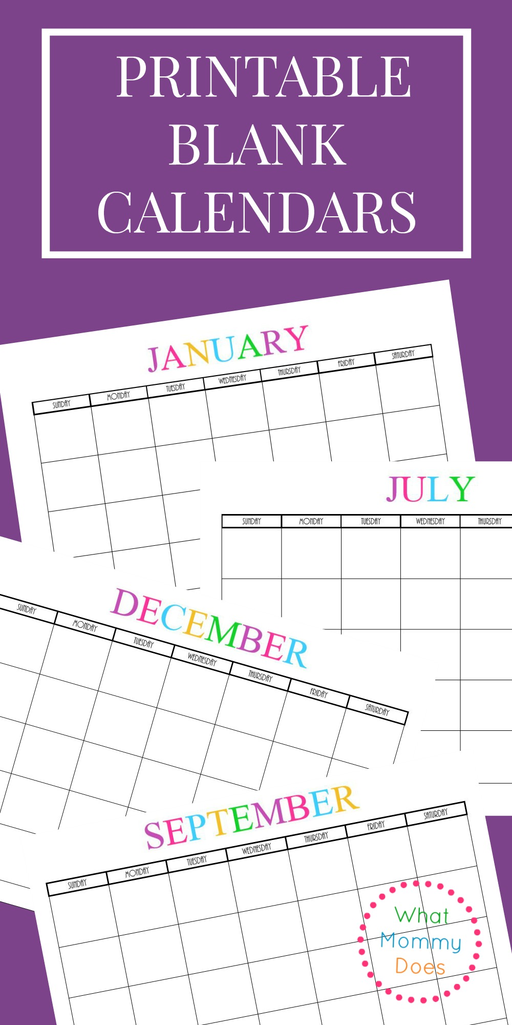 It is a photo of Candid Printable Monthly Calendars for 2020