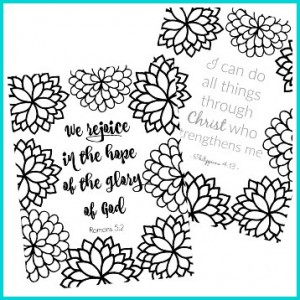 Bible Verse Coloring Pages Collection
