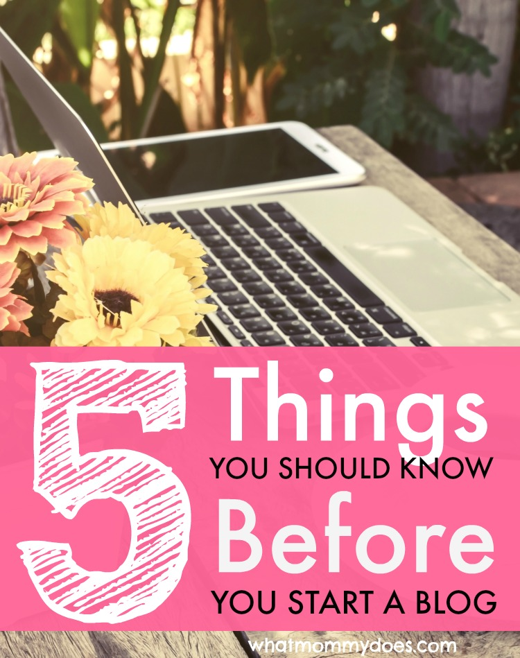 5 things you should know before blog