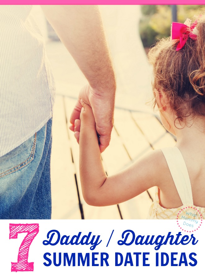 What a lovely list of daddy daughter dates for the summertime! Fun & unique date ideas in case dad wants a list of things to do with his little girl. These work for all ages, from toddlers to teens! Bonus points: they're pretty frugal date ideas, too. :)