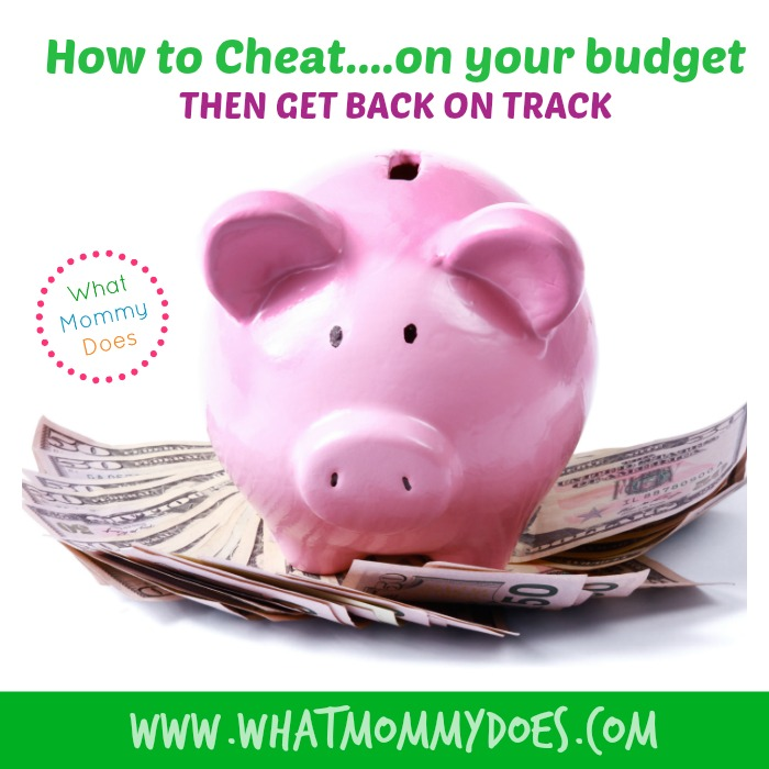 how to cheat on your budget Facebook
