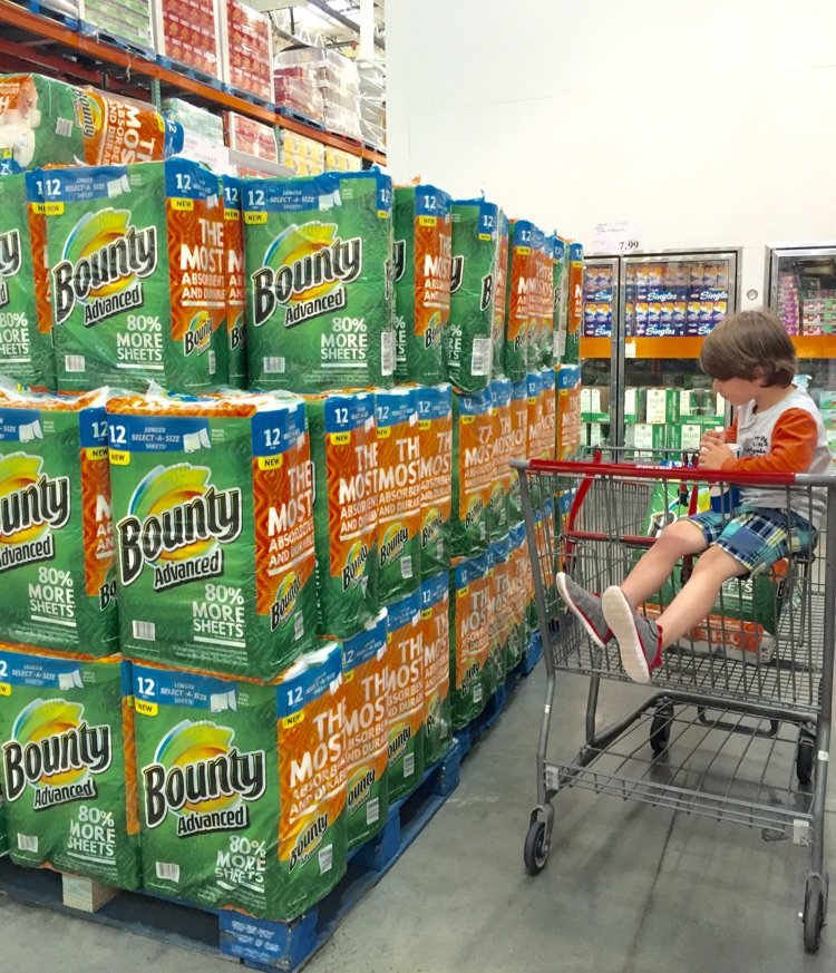 Costco P&G Bounty