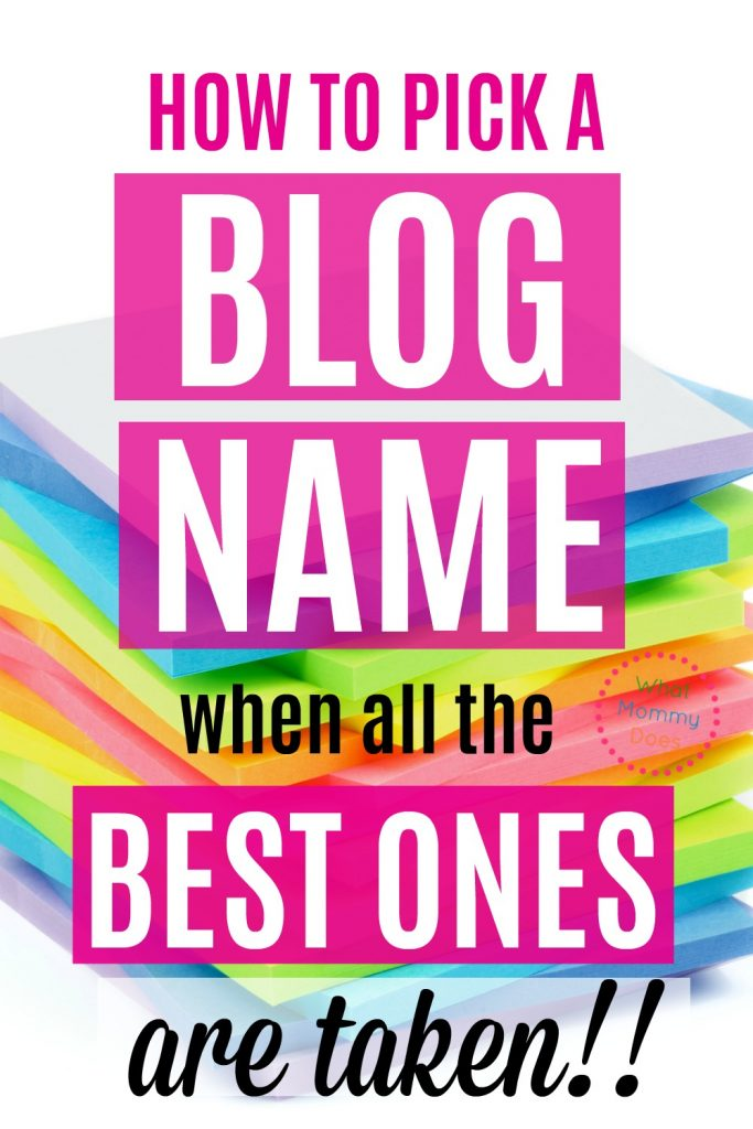 I've been trying to figure out the best name for my blog, but it seems like all the BEST ONES are TAKEN!! This blogger explains exactly what you should do if you can't figure out what to name your blog when it seems like everything you think of isn't available. She tells you what to look for. This will help you figure out the right name! I can't wait to start my blog now. | starting a blog, make money blogging, lifestyle blog names, blogging tips, new blogger ideas