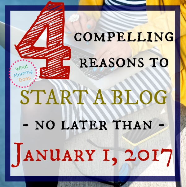 If you have been thinking about starting a blog to make extra money from home, you HAVE to read these 4 compelling reasons why 2016 looks like THE year to start a blog! I appreciate the realistic look at what it actually takes to make money from a blog because I don't just want a hobby blog - I want a MONEY MAKING BLOG!! So glad I found this! Finally, someone who can walk me through the process!!! She even teaches you how to start a blog with a helpful printable tutorial.