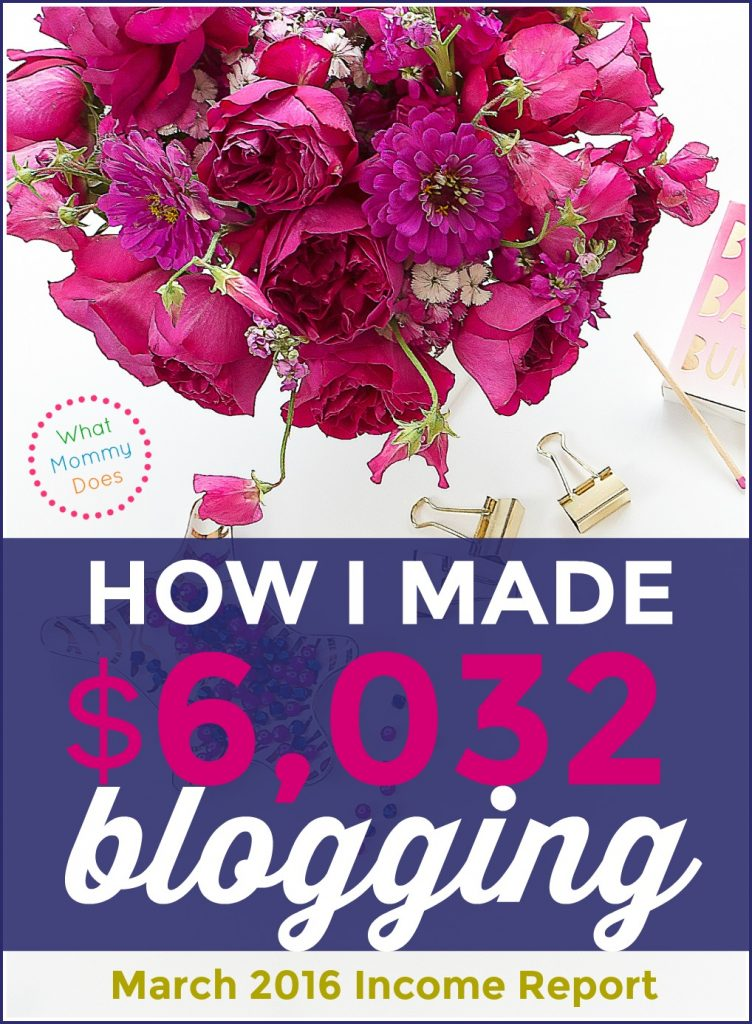 I can't believe you can make $6,000 per month in your free time blogging!! Lena explains exactly how her blog makes money in this post!!! She literally works part time and makes more than I do at my full time job!! $6000 per month = $72,000 per year! wow. just wow.She shows you how to build a blog from step 1 so it can earn extra income for you even if you can only work evenings and weekends. She started during her babies' nap times! :D   making money online, money making idea, side hustle, make extra cash on the side, free blogging tutorials, how to start a blog to make money