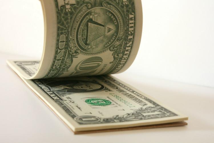 tear off dollar bills notepad
