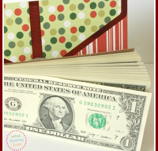 How to Make a REAL Money Notepad {Step-by-Step Instructions}