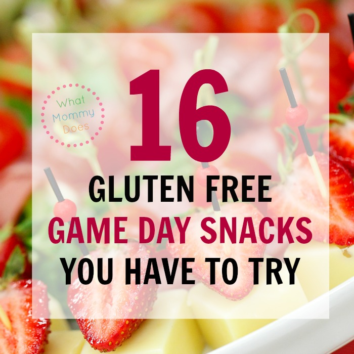 You have to try these healthy game day snacks at your next Super Bowl party. Being gluten free has never been so fun!!!