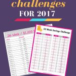 2017 Money Saving Challenges to help you CONQUER your finances!
