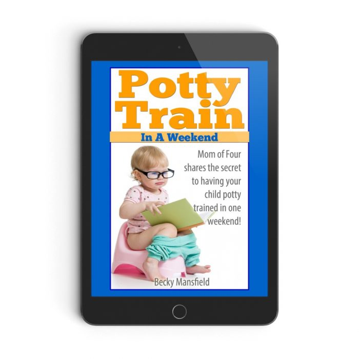 how to potty train in a weekend by Becky Mansfield