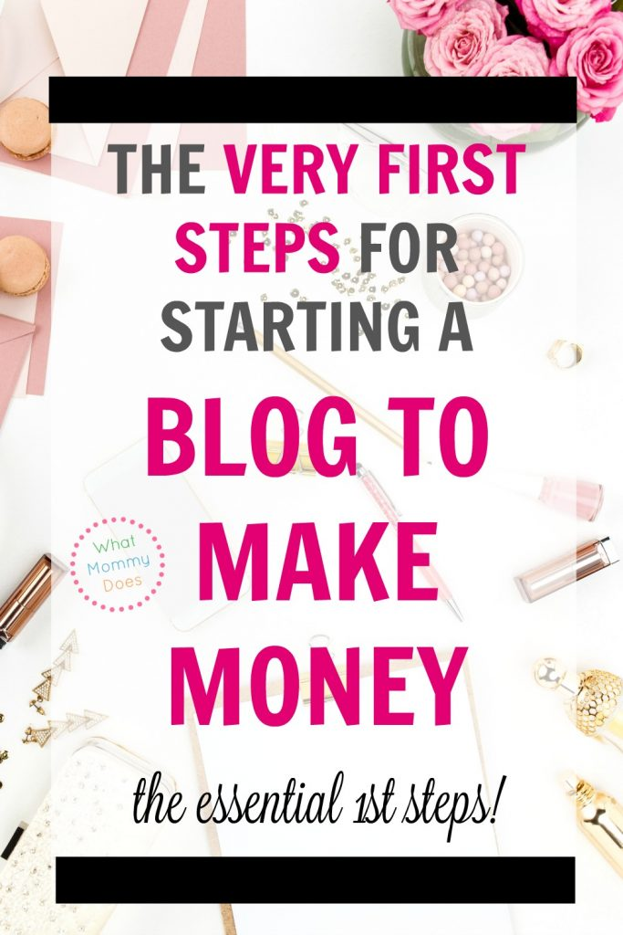 I have been wanting to start a blog to make money for a long time! This step by step explanation really helped me. I didn't realize that creating a blog for income is different than starting a blog for fun. Lena goes over everything you need to consider to get started & you can even download her free prrintable step-by-step tutorial....it's really easy to follow. So glad I found this after reading a lot of confusing blog posts on the topic. | money making blog, make money with a blog, how to start a blog