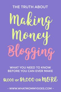 Do you want to know the real truth behind what makes a blog successful? It's not glamorous!! I bet it's not what you think. | money making blogs, start a blog to earn money, stay at home mom entreprenuer, blogging for money, income ideas