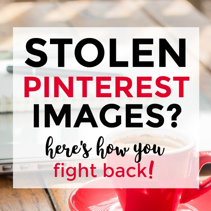 what should you do when someone steals your blog images