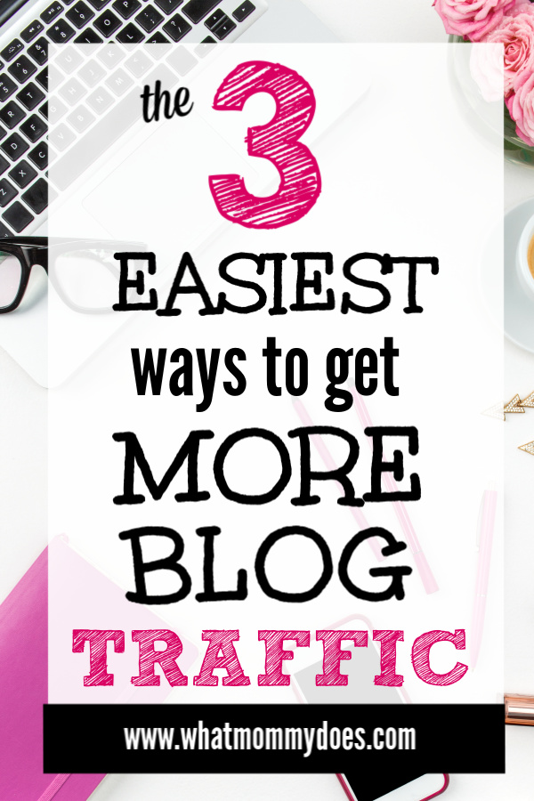 If you want to increase your blog traffic FAST, you have to try these tips! They have worked for over 10 years to get this blogger traffic! More traffic to your posts = more money for your bank account.