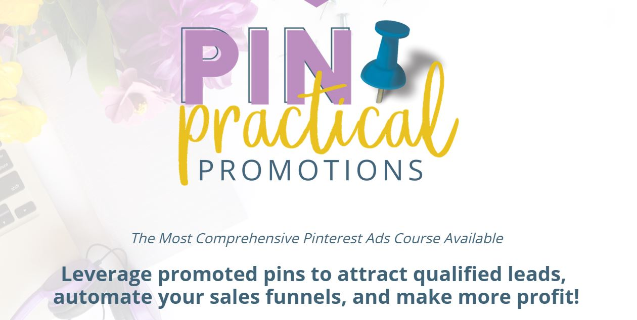 pin practical promotions black friday sale. Get this course before it's gone forever.