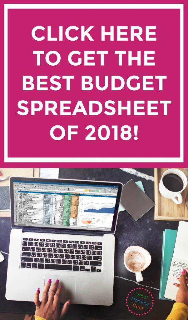 what is the best budget spreadsheet of 2018 - download it today and master your household budgeting - editable in Google sheets