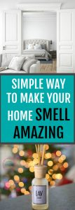 I love making my home smell nice. This is a simple way to get lots of good scent floating around the house! Nothing like a nice clean home! #cleaning #homemaking | How to Make Your Home Smell Good