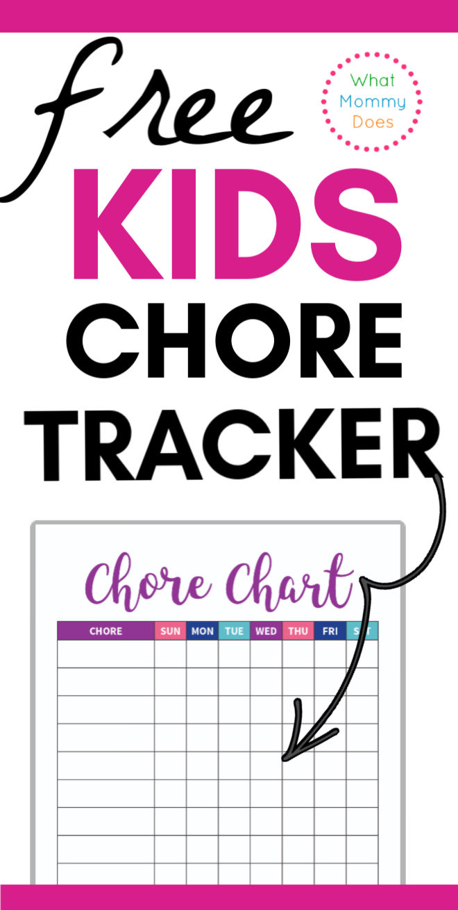 Free Printable Chore Chart Template from www.whatmommydoes.com