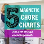 5 Magnetic Chore Charts That Make Your Kids WANT to Do Chores!