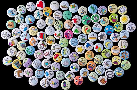 chore chart magnets mix and match