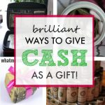 creative Christmas idea - money gift for teens