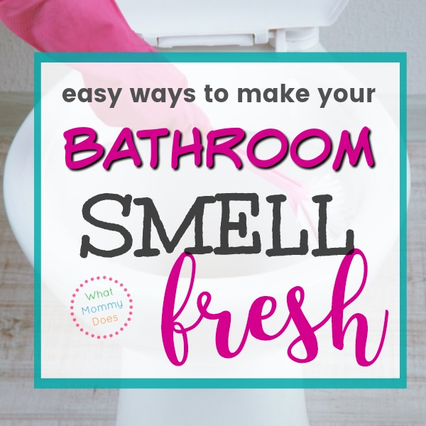 How to Make Your Bathroom Smell Good All the Time {the 5 ...