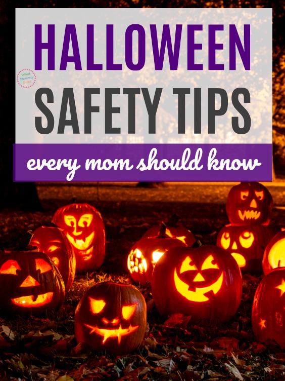 I didn't realize just how many things could happen on Halloween! These are SO important to know especially if you have little ones trick-or-treating that evening. | Halloween safety tips & ideas #halloween #parenting #homeowner