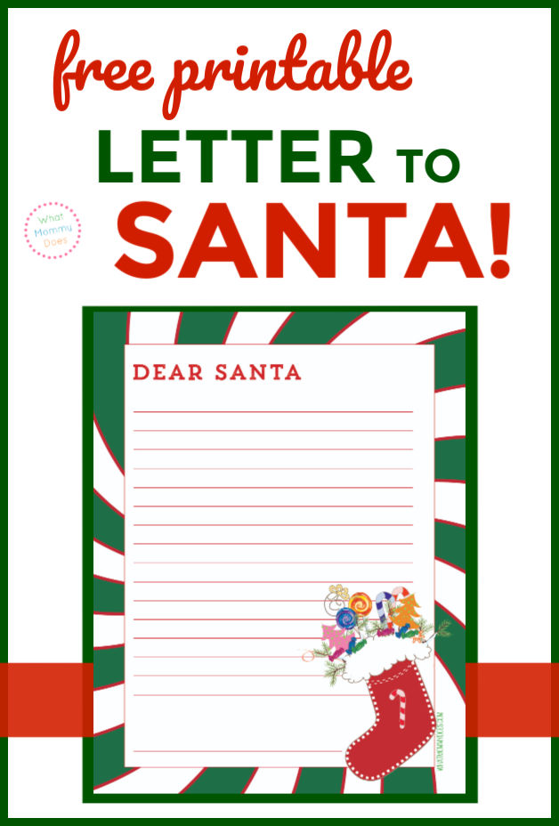Letter to St. Nick for Christmas Eve