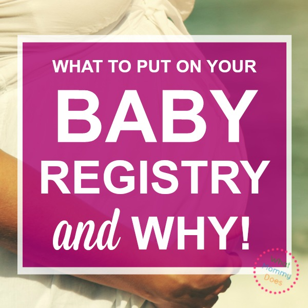 how to set up an Amazon baby registry the right way