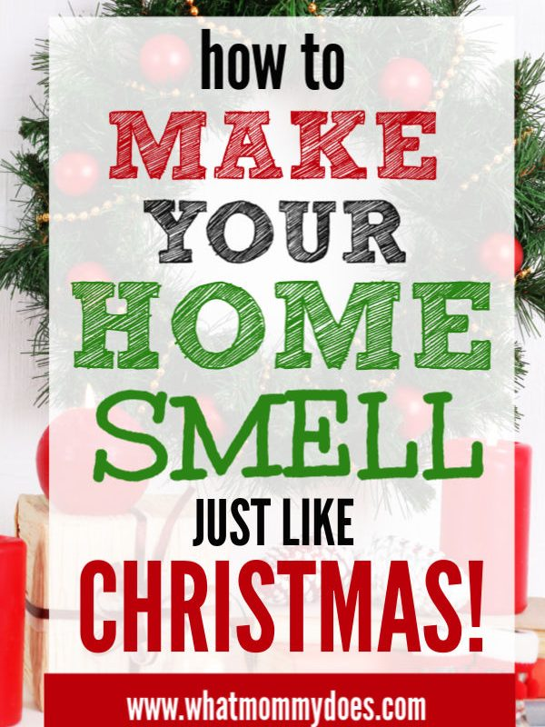 scent hacks for making your house smell like Christmas